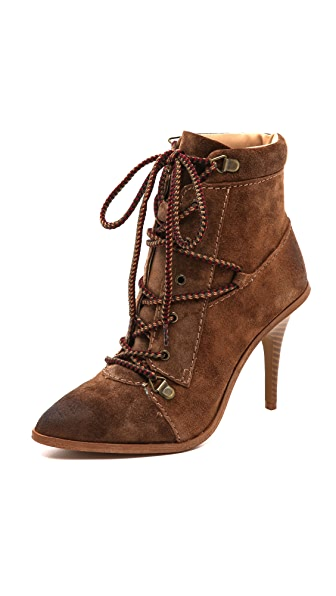 Joe's Jeans Austyn Lace Up Booties