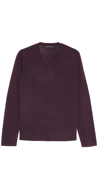John Varvatos Star USA V Neck Sweater
