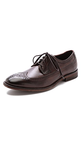 John Varvatos Star USA Dearborn Wingtip Shoes