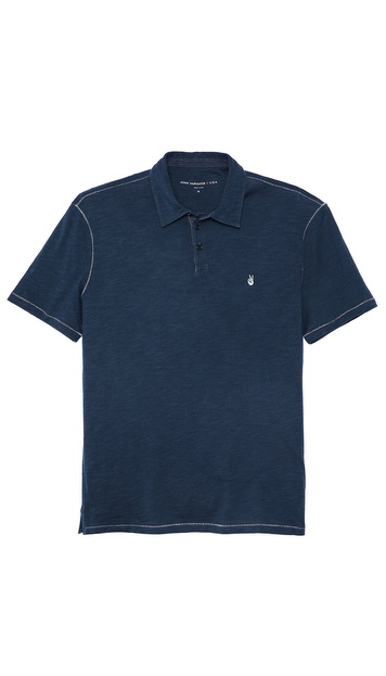 John Varvatos Star USA Soft Collar Peace Polo