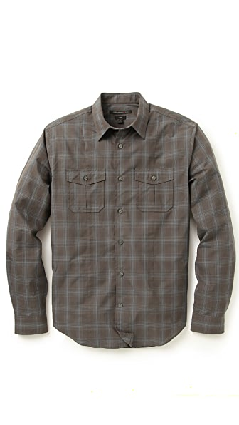 John Varvatos Star USA Camp Shirt