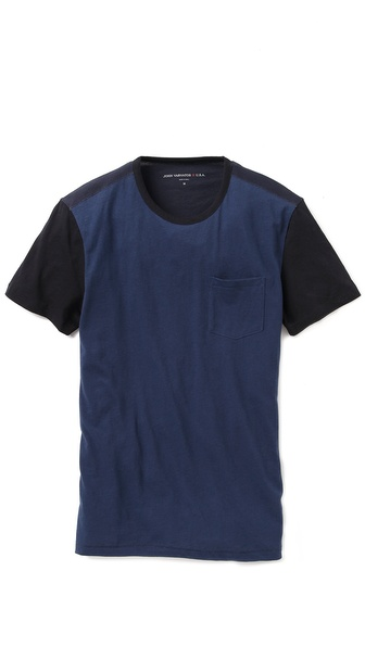 John Varvatos Star USA Baseball T-Shirt