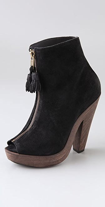 Joie Knock On Wood Suede Booties