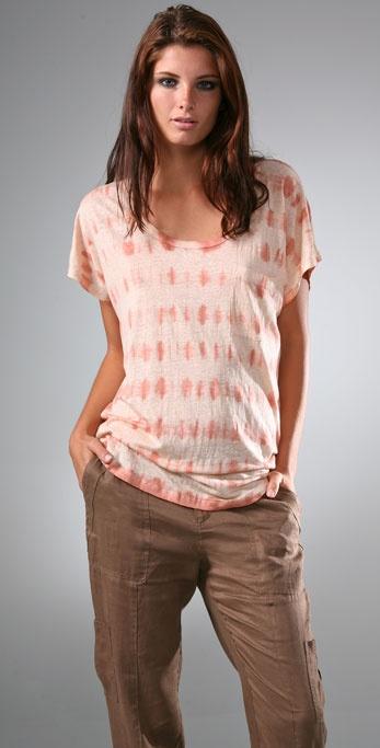 Joie Joann Linen Tie Dye Top