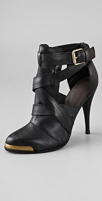 Joie San Francisco Crisscross Booties