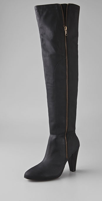 Joie Solitaire Over the Knee Boots