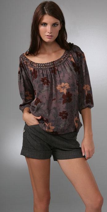 Joie Isla Rustic Floral Top