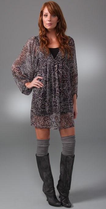 Joie Cece Paisley Dress