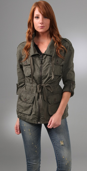 Joie Harlow Safari Jacket