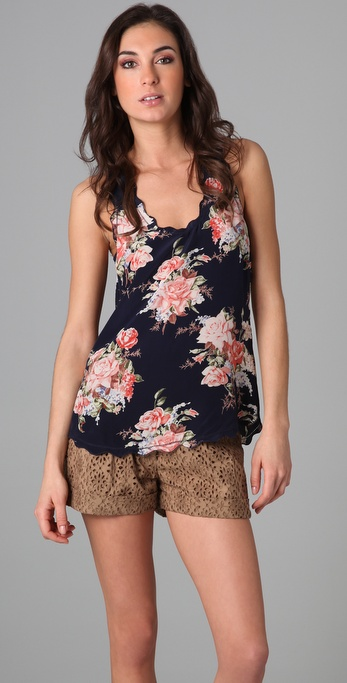 Joie Montreal Romantic Floral Tank