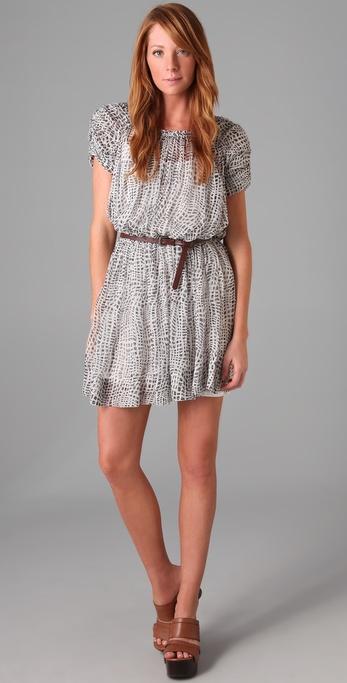 Joie Reanna Belted Dress