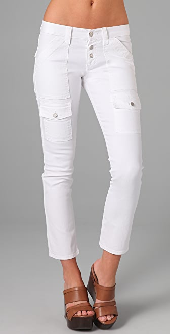 Joie Beverly Cargo Skinny Jeans