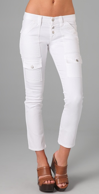 Joie Beverly Cargo Skinny Jeans