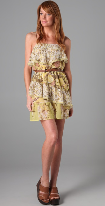 Joie Ashanti Ruffle Dress