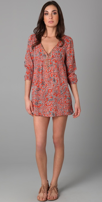 Joie Joie A La Plage Collie Cover Up Tunic