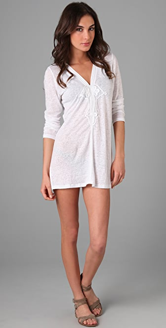 Joie Joie a la Plage Andy Hooded Tunic