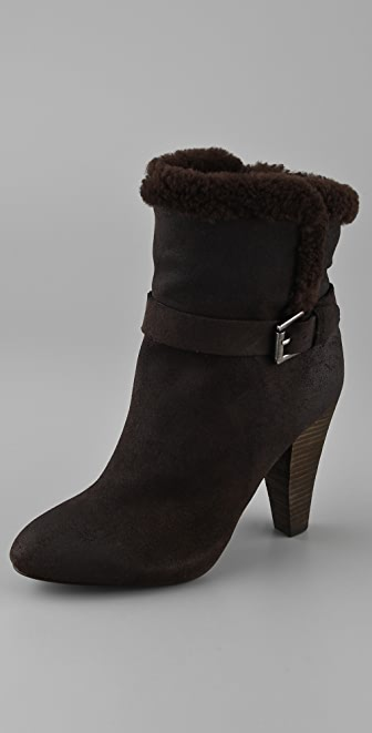 Joie Strange Things Suede Booties