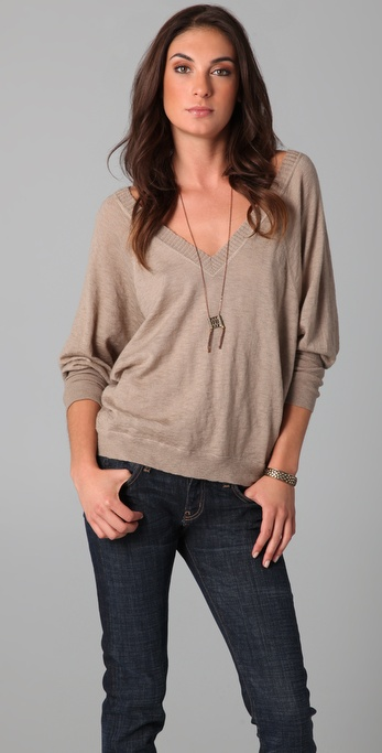 Joie Arlette Slubbed Sweater