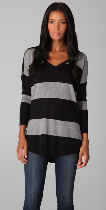 Joie Cheyenne Striped Sweater