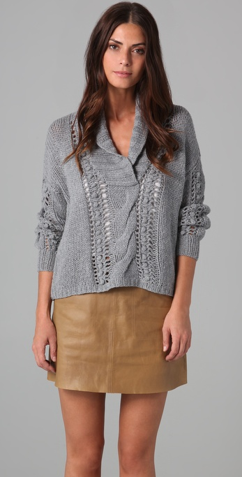 Joie Randel Cable Sweater