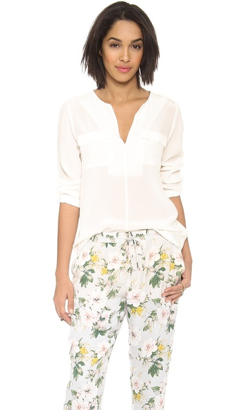 Joie Marlo Blouse - Porcelain at Shopbop / East Dane