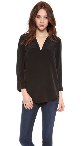 Joie Marlo Blouse - Caviar at Shopbop / East Dane