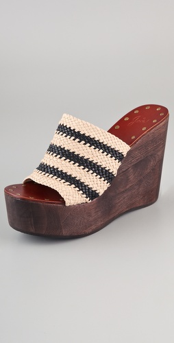 Joie Let's Go Crazy Woven Wedges