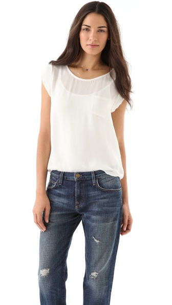 Joie Rancher Top - Porcelain at Shopbop / East Dane