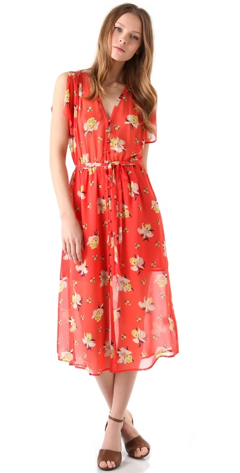 Joie Lunaria Midi Dress