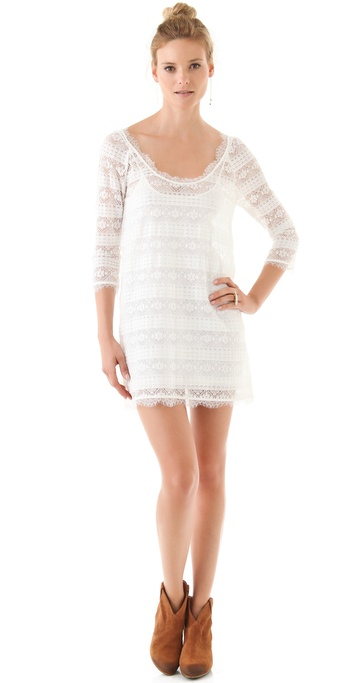 Joie Brea Lace Dress