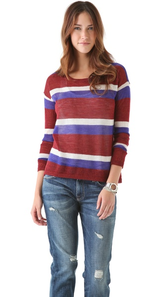 Joie Rosalie Stripe Sweater