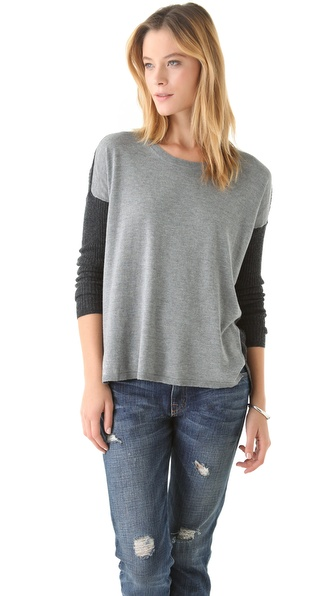 Joie Dixie Colorblock Pullover