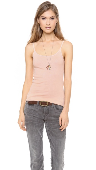 Joie Layering Tank - Dusty Pink at Shopbop / East Dane