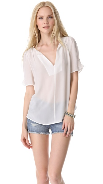 Joie Amone Blouse - Porcelain at Shopbop / East Dane