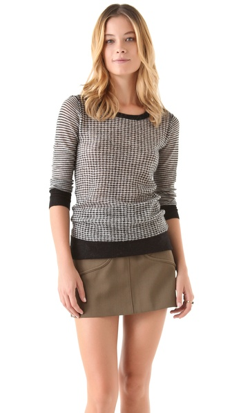 Joie Aimee Diamond Sweater