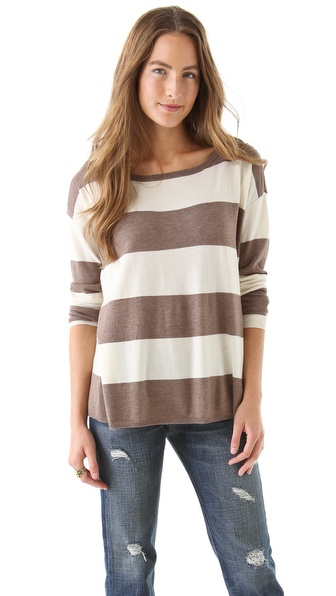 Joie Zed Stripe Sweater