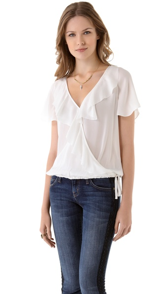 Joie Ulani Ruffle Top