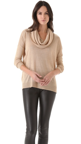 Joie Mildred Metallic Sweater