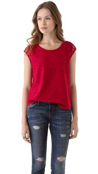 Joie Rancher B Lace Top