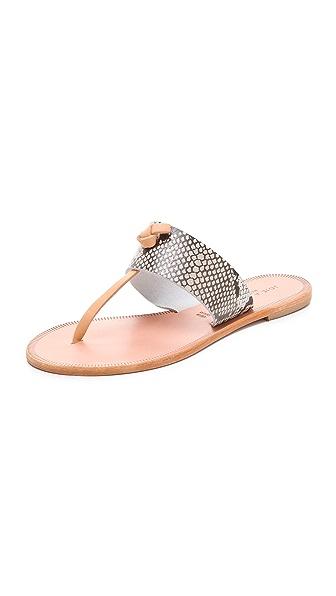 Joie A La Plage Nice Python Sandals