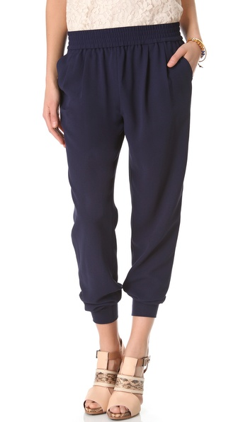 Joie Mariner Pants - Dark Navy at Shopbop / East Dane