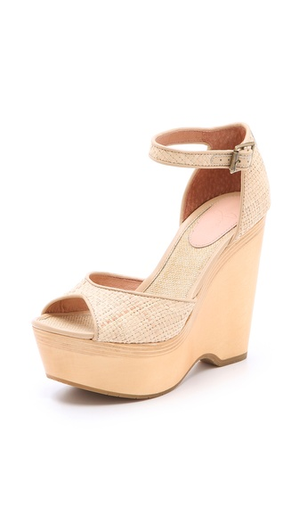 Joie Weber Wedge Sandals