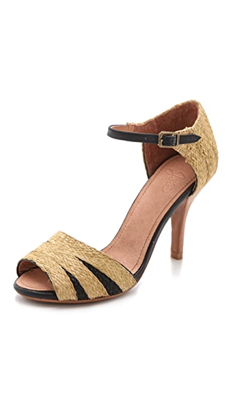 Joie Laurel Raffia Sandals