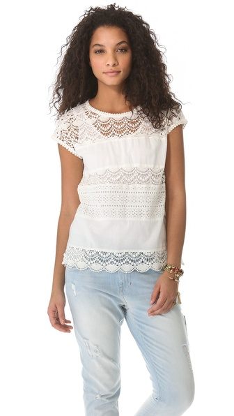 Joie Sigrid Eyelet Top