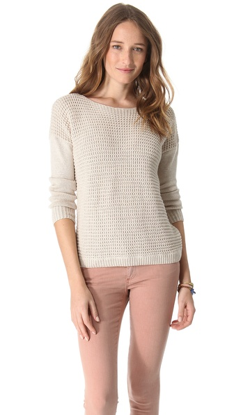 Joie Morie Mismatch Stitch Sweater