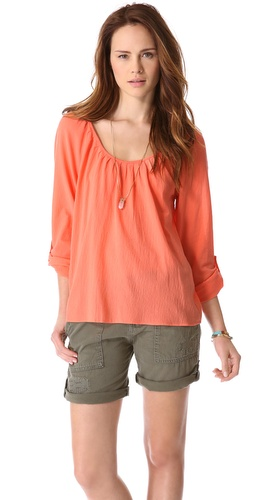 Joie Heron Scoop Neck Blouse at Shopbop.com