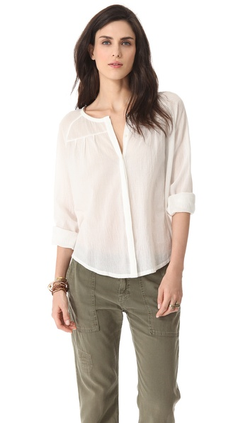 Joie Adelman Henley Blouse