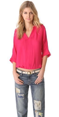 Joie Marru V Neck Top