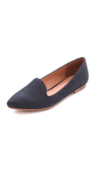 Joie Daydreaming Denim Loafers