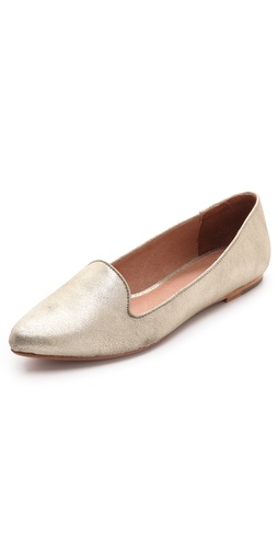 Joie Daydreaming Metallic Loafers at Shopbop / East Dane